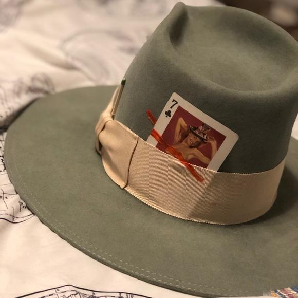 2937b46df1bdf Nick Fouquet Fedora Hat. M 5bff6a736a0bb73d2fda25b8